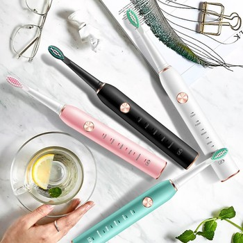 Toothbrush Sonic Electric USB Rechargeable 5 Modes Ultrasonic Automatic Brush Timer Waterproof Dental Brush Teeth Whitening sonic electric toothbrush usb rechargeable 5 modes ultrasonic automatic brush timer waterproof dental brush teeth whitening