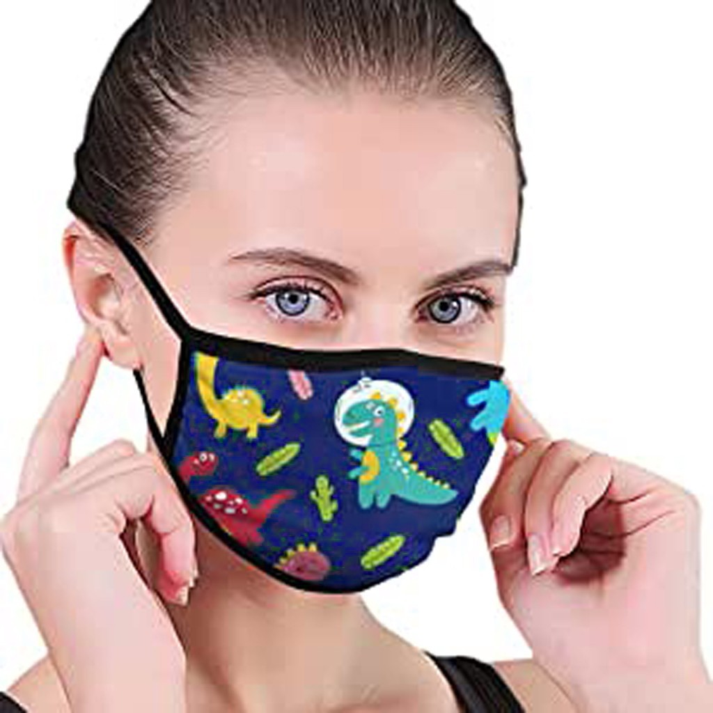 Outdoor Face Mask Cute Dinosaurs Children Dustproof Half Face For Kids Anti-Radiation Mask Mouth-muffle Mascarillas Respirator