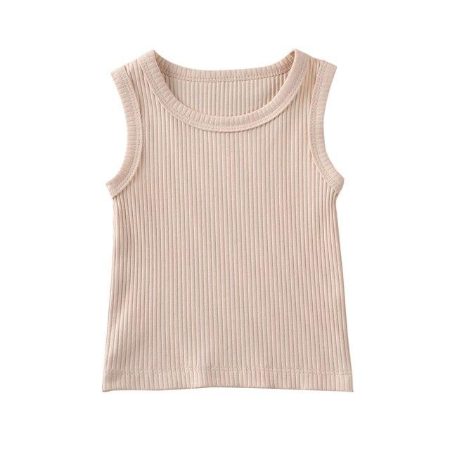 beige cotton top