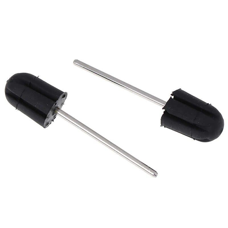 Сверла для ногтей шлифовальные ленты блок шапки резаки для маникюра резиновая шлифовка ногтей Колпачки для педикюра 5*11 7*13 10*15 13*19 16*25