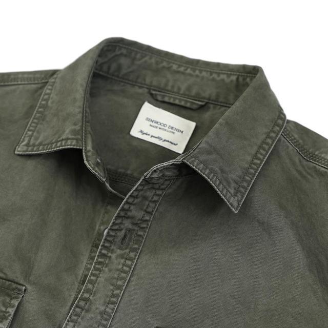 Military overshirt style Shirt for men