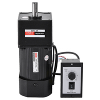 AC 220V 50/60Hz 120W Single Phase Variable Speed Motor M5120 502 Speed Control Gear Motor+Governor Complete Motor kits
