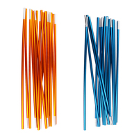 2x Aluminum Alloy Pole Sticks 9 Sections For Tent Camping Tent|Tent Accessories|   -