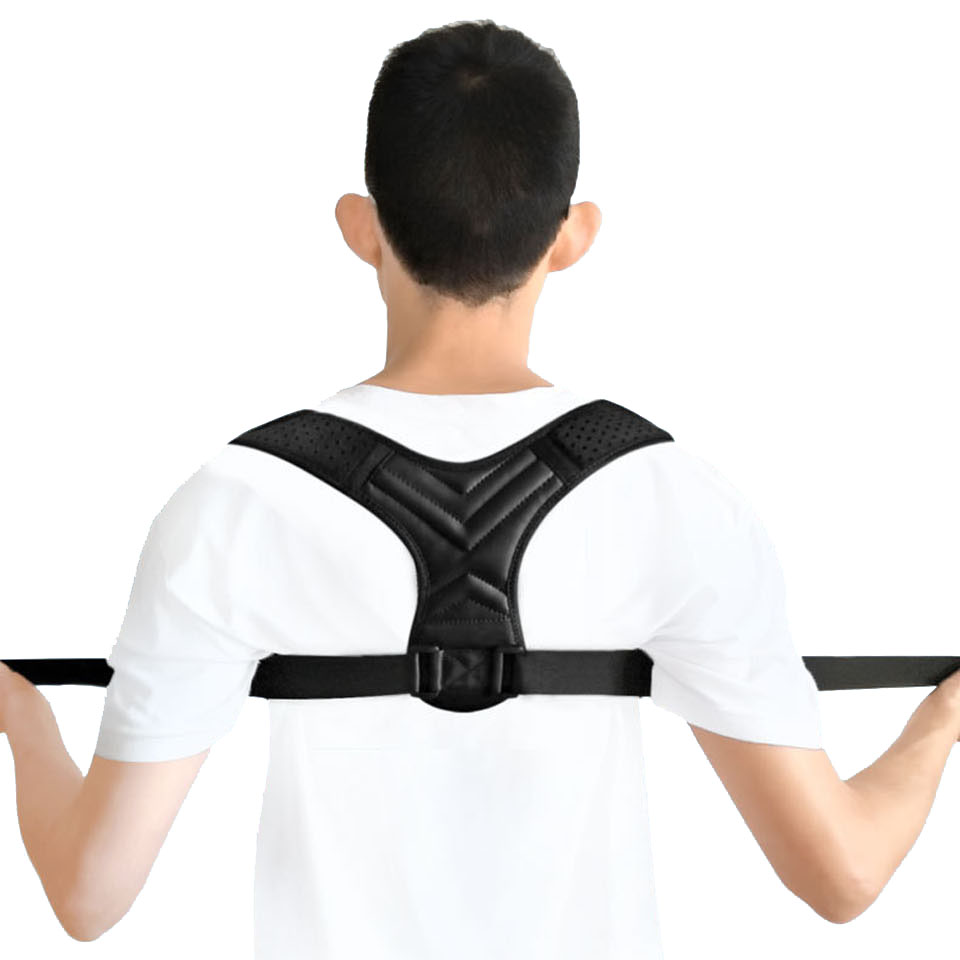 NEW Back Posture Corrector Belt Women Men Prevent Slouching Relieve Pain Posture Straps Clavicle Support Brace 1