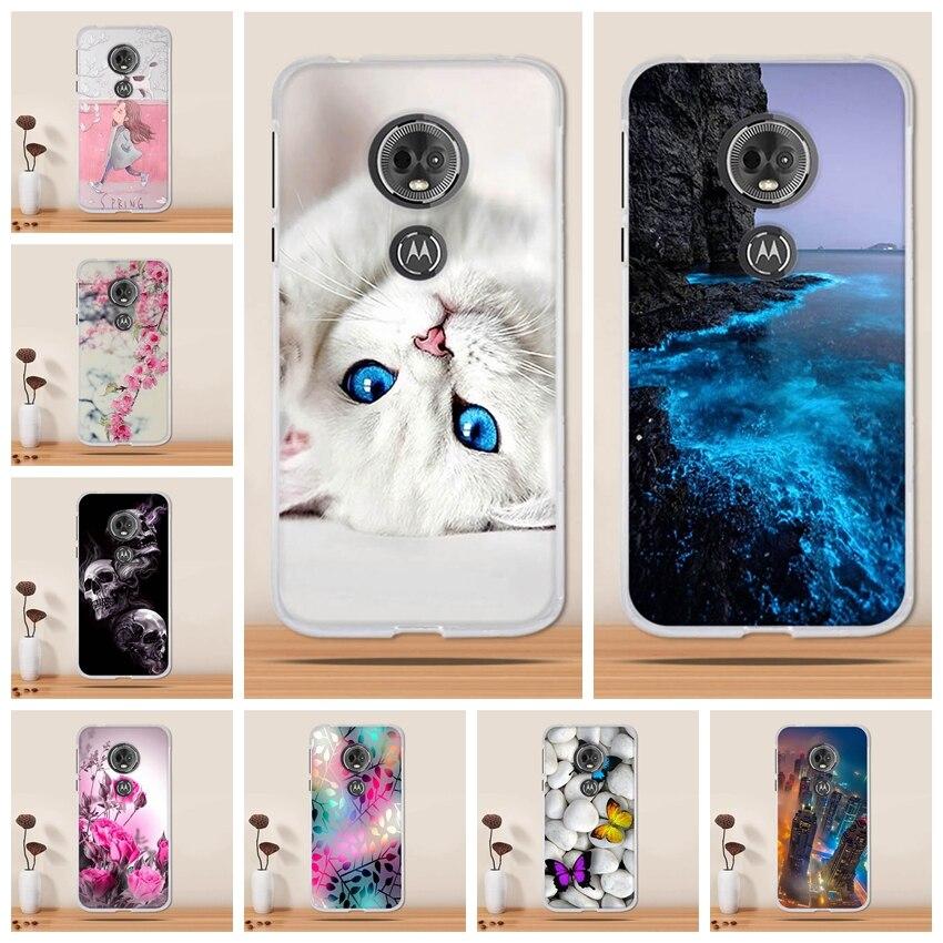 for Motorola Moto E5 / G6 Play Case Cover Silicon Coque for Motorola Moto E 5th Gen Case Tpu Capa Fundas for Moto E5 Phone Case