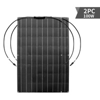 solar panel 100w 300w 200w 400w 16V 24V flexible solar panel For 12V battery charger Monocrystalline cell 1000w home system kit