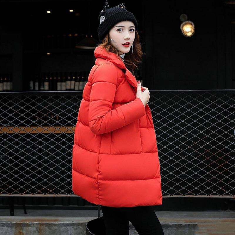 Dow Parka Women Down Jacket Winter Coat Winter Parka Cotton Padded Jacket Woman Winter Jacket Coat Causal