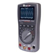 Интеллектуальный 2в1 цифровой 40 МГц 200 Msps/S осциллограф мультиметр 6000 отсчетов истинное среднеквадратичное значение Автоматический мультиметр Аналоговый Grap инструменты формы волны