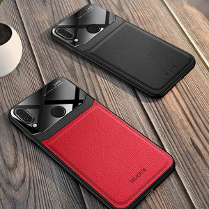 Image 5 - I coque,cover,case,For Xiaomi Redmi Note 7 Pro Note7 On leather Mirror glass Silicone Shockproof phone Luxury soft cute cases