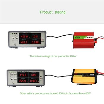 Hot DC 12V to AC 110V Car Power Inverter Converter Modified Sine Wave Power with Dual USB Output Car Charger Adapter 300W 400W
