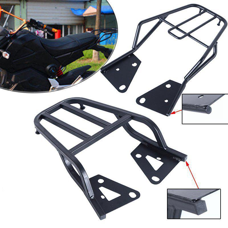 Dragonpad Motorcycle Rear Shelf For MSX125 HONDA M3 Motorcycle Electric Vehicle Refitted Box Tail Fin