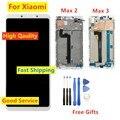 ЖК-дисплей с дигитайзером в сборе для Xiaomi Mi MAX 2 3  сменные детали для Mi MAX 2 3  100% тестирование