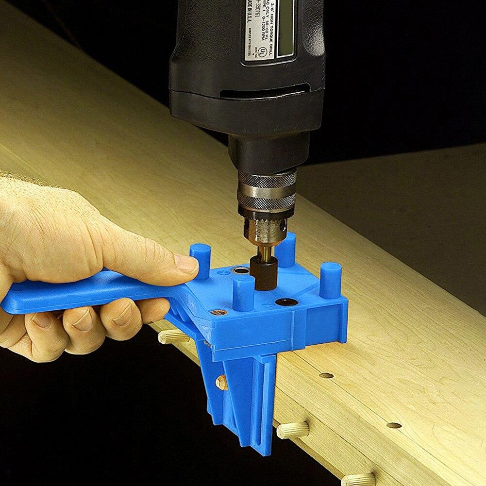 Столярное карманное отверстие, направляющая для сверления деревянного дюбеля, перфоратор, Классические практичные многофункциональные инструменты|Сверла|   | АлиЭкспресс