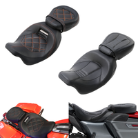 Motorcycle Driver Passenger Seat For Harley Touring CVO Street Electra Glide FLHX Road King Special FLHRXS Ultra Limited 09 2020