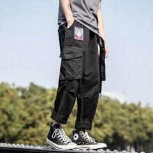 Décontracté Harem Rose 2021 Pantalon Cargo Pour Homme Femmes Streetwear Sarouel Jogging Harajuku Survêtement Hip Hop Streetwear Pantalon