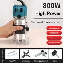 800 Вт ручной электрический триммер фрезерный станок для резьбы