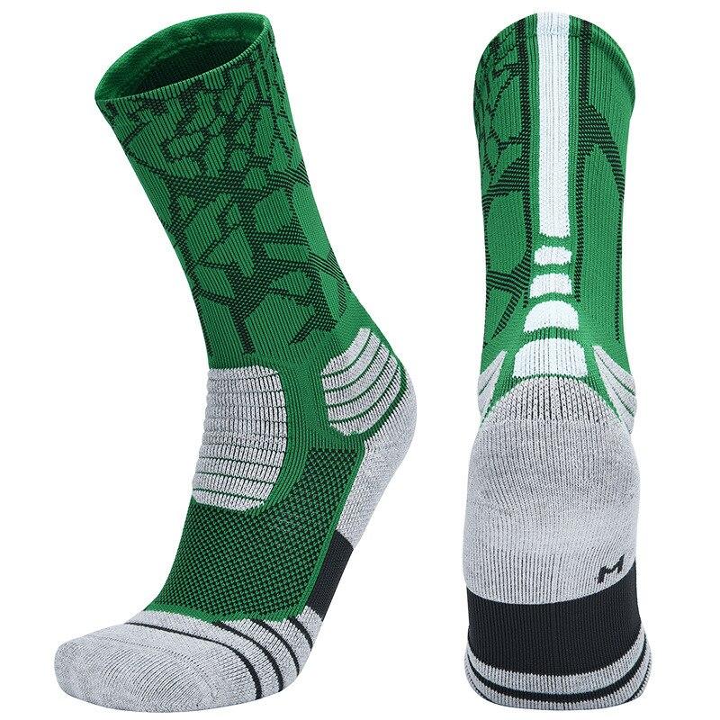 New High Quality Professional Elite Basketball Socks Men's Cycling Socks Thicker Towel Bottom Socks Men Ski Outdoor Sports Socks