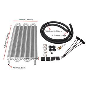Image 4 - Condensatore del tubo del radiatore del radiatore della trasmissione del condizionatore daria dellautomobile del convertitore del sistema di raffreddamento professionale della lega di alluminio del tubo flessibile