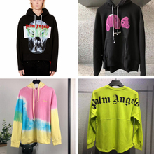 Palm Angels Hondies Men Women Oversize Casual Stranger Things SweatshirtStreetwear Palm Angels Pullover Xxxtentacion Hoodies palm angels головной убор
