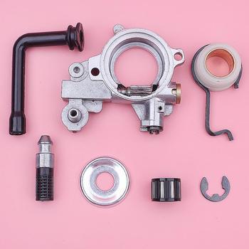 Kit de línea de filtro de engranaje de gusano de bomba de aceite para Stihl MS361 MS341 arandela de cojinete de embrague herramienta de parte