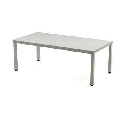 TABLE OFFICE 'S EXECUTIVE SERIES 160X80 ALUMINUM/GREY