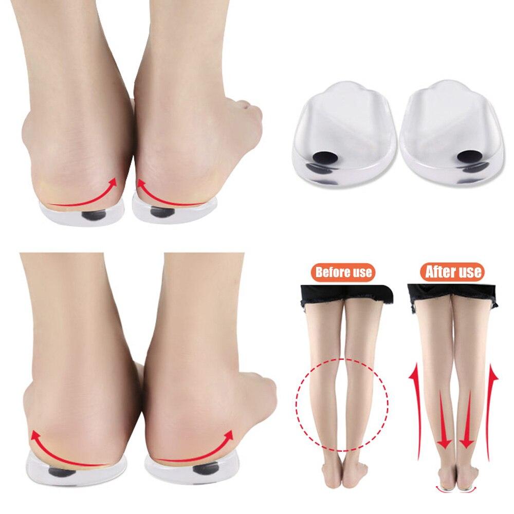 1 пара Магнитная Подпяточник для уплотнительное Ноги X-ноги внутри и снаружи правильной обуви стельки Дышащие Мягкие амортизация стельки дл...