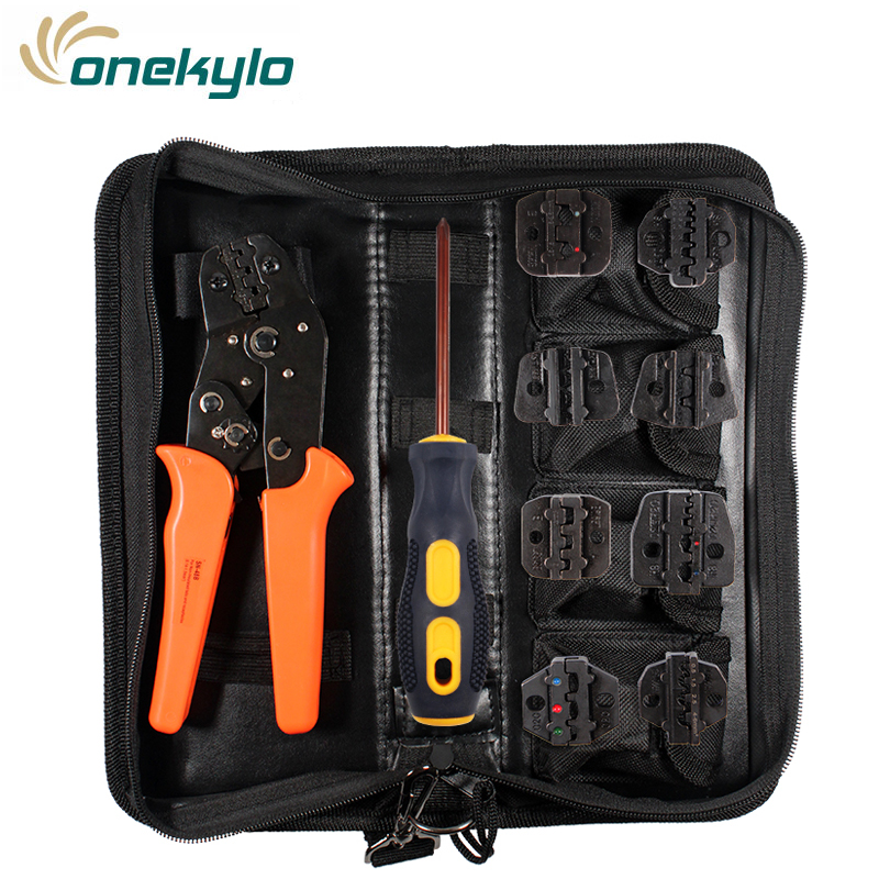 SN-48B  Professional Crimping Tool kit Wire pliers Multifunctional Engineering Ratcheting Terminal Pliers Stripper