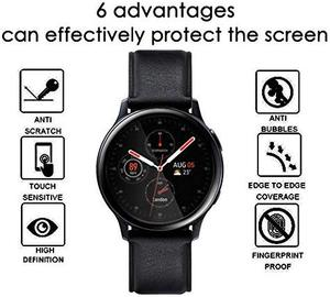 Image 2 - 100PCS 3D Soft Screen Protector for Samsung Galaxy Watch Active 2 40mm 44mm Full Cover Protective Film (No Tempered Glass)