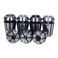 Neue 7Pcs 1 7mm ER11 Spannzange Werkzeug Bits Halter Frühling Collet für CNC Gravur Maschine & fräsen Drehmaschine Werkzeug-in Holzfräsemaschinen aus Werkzeug bei