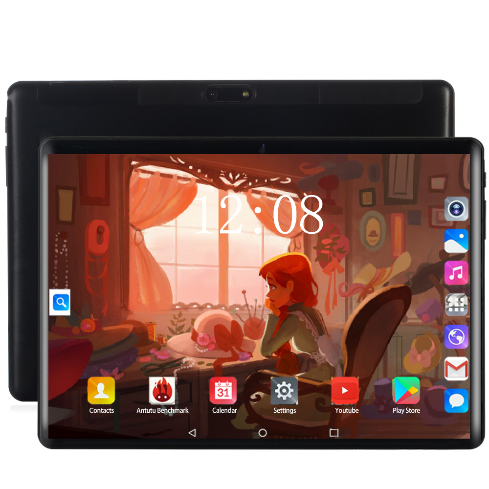 Kids Gifts YAHU 10.1 Inch Tablet PC Android 8.0 Octa Core RAM 6GB ROM 128GB 3G/4g LET Smart Phone Android  WiFi Tablets 10