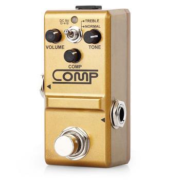 Rowin LN-333Guitar Comp Pedal Mini Analog Compress Effect Pedals For Electric GuitaristClassic Optical Compressing Sound 2 Mod rowin analog dumbler guitar effect pedal