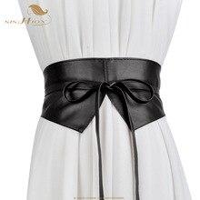 SISHION Ladies Women Wide Belt Lace-up Cummerbunds QY0317 De