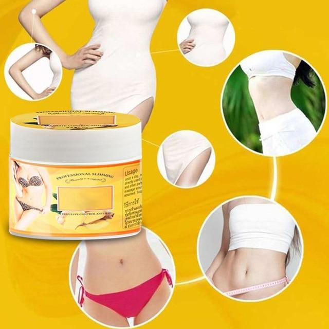 Ginger Fat Burning Cream Anti-cellulite Full Body Slimming Weight Loss Massaging Cream Leg Body Waist Effective Reduce Cream  M2 2