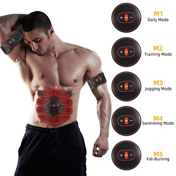 Professional EMS Abdominal Arm Muscle Abs Sticker Electric Muscle Stimulation 5models Training bix hs5 right arm deltoid muscle injection artery puncture training model mq013