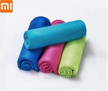 Xiaomi COMO VIVER Antibacteriano Frio-sensing-secagem Rápida Toalha de Esportes Viagens Jogger Ginásio de Natação Toalhinha 30x100cm