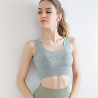 2020 New Sports Bra Gym Underwear Yoga Top Bra Running Exercise Sketch Vest Seamless Fitness Bra Workout Clothes For Women