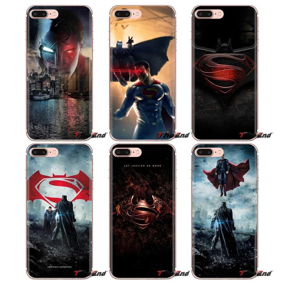 Xiao mi kırmızı mi 4 3 3S Pro mi 3 mi 4 mi 4i mi 4C mi 5 mi 5S mi Max not 2 3 4 şeffaf yumuşak Kılıfları Kapakları Batman vs Superman