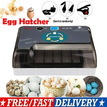 4-35Eggs Incubator LED Fully Automatic Turning Chicken Poultry Egg Ducks Hatcher 12 Small Incubators