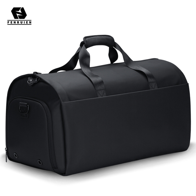 Fenruien New Men Multi-Function Large Capacity Travel Bag Suit Luggage Bag 17 Inch Laptop Waterproof Tote Bag With Shoe Pouch 1
