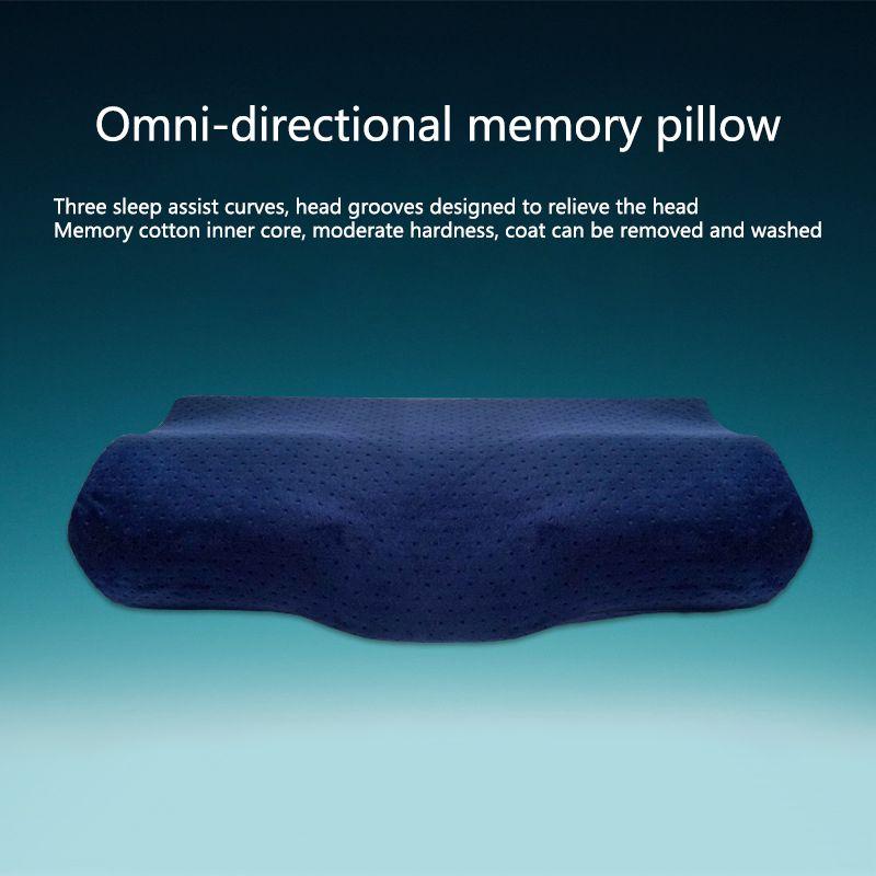 VIP Neue Gesundheits Schmetterling-förmigen Memory-schaum Kissen Ergonomische Zervikale Core Kissen für Nacken und Schulter Schmerzen Für Schlaf