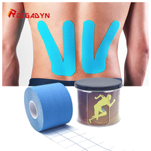 ROEGADYN Cotton Tape Adhesive Waterproof Kinesiology Tape Athletic Tape Joint Protector Elastic Tape