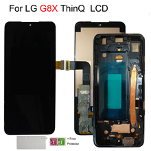 6.4 Amoled Lcd For LG G8X LCD Display Touch Screen Digitizer Assembly Replacement Parts For LG V50S G8X ThinQ LCD with frame
