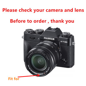 Image 2 - Flower Lens Hood for Fujifilm X T30 X T20 X T10 X T3 X T2 X T1 X E3 X E2 X E1 with 18 55mm lens / FUJINON LENS XF 14mm F2.8 R