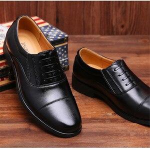 Brand Men Simple Lightweight Men Classic Derby Shoes Male Business Dress Formal Shoes 2019