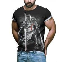 Camiseta de la calle para hombre, blusa de imitación 3D, figuras cinematográficas, mangas informales, nuevo 2021