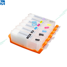 UP PGI 580 PGI580 CLI581 Empty refillable Ink Cartridges For canon TS8150 TS8151 TS8152 TS9150 TS9155 TS8250 8251 8252 printer
