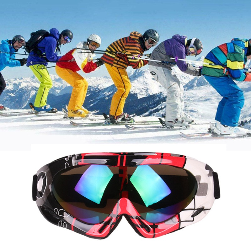 Ski Goggles Snow Glasses Eyewear Windproof Dust-proof Adjustable UV 400 Outdoor Climbing Sports Protective For Adult Child M1
