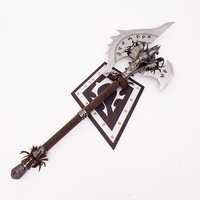 Cos WOW Game Props 1:1 forging Family ornaments can be hung on the wall Total weight 6kg Stainless steel material not sharp