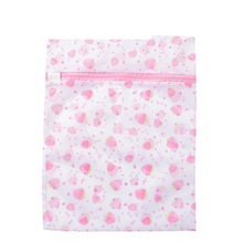 Net Washing Bag Printed Nylon Mesh Laundry for Machine Bra Lingerie Tights and Underwear