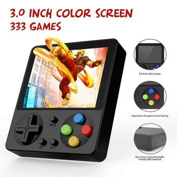 333 juegos MINI Game Boy portátil Retro Handheld 8 Bit GameBoy niños nostálgico jugadores videoconsola para niños nostálgico